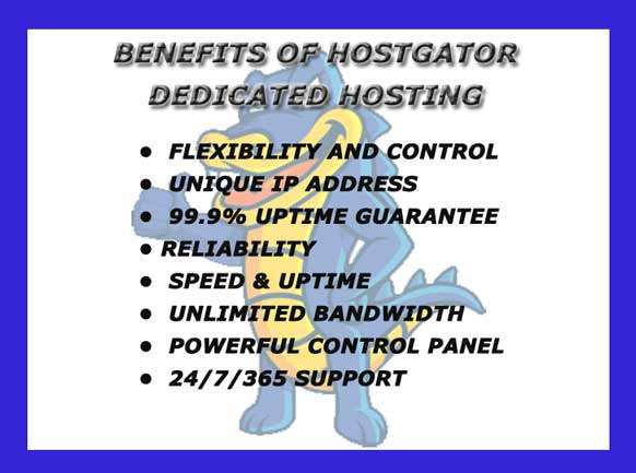 Benefits of HostGator Web hosting