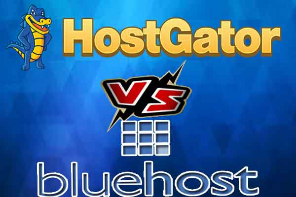 Bluehost VS Hostgator
