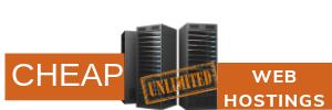 cheap unlimited web hostings
