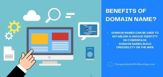 benefits of domain name